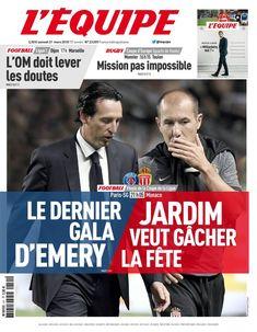 L'Équipe 31 mars 2018
