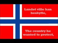 National anthem of Norway (Lyrics) - YouTube