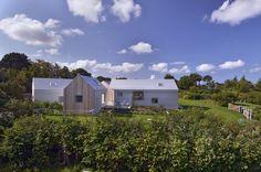 Летний дом в Дании, где каждый дом это комната