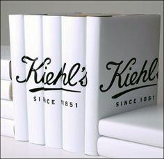 Kiehl's Custom Book Jacket Branding