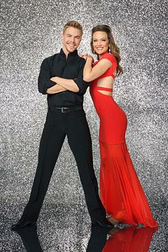 Official Title Shoot - Amy Purdy and Derek Hough #DWTS18