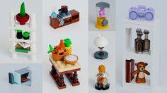 Lego kitchen appliances