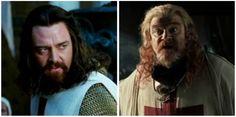 Dois personagens bastante controversos que causaram muitos problemas ao rei Balduíno IV.