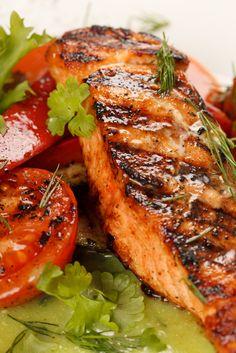 Salmon & Tomatoes