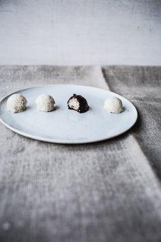 Raw Almond Joys/Mounds Bars/Bounty Balls {Vegan + Gluten Free, too}
