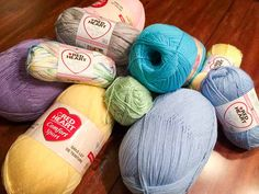 3 yarns perfect for baby