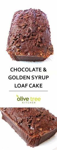 Chocolate And Golden Syrup Loaf Cake is part of Loaf cake recipes - Chocolate and Golden Syrup Loaf Cake a rich, indulgent dessert guaranteed to solve ALL your chocolate cravings! Perfect for a Valentine's Day treat! Baking Recipes, Cake Recipes, Dessert Recipes, Loaf Tin Recipes, Syrup Recipes, Oreo Desserts, Frosting Recipes, Easter Recipes, Kitchen Recipes