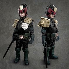MINI JUDGE DREDD by Steven Sterlacchini,
