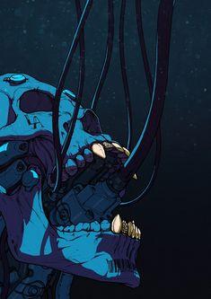 Morbid Fantasy — TechnoSkullMonday – sci-fi/horror concept by...