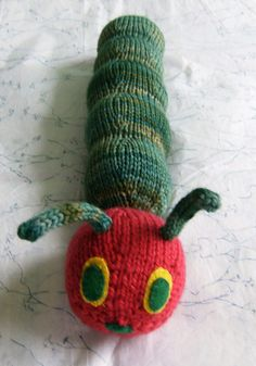 Very Hungry Caterpillar Crochet Hat Pattern Free : 1000+ images about Toys on Pinterest Pattern library ...