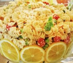 Lemon Pasta Salad - Made for dinner 8/11/13, added sauteed shallots, and meat from rotesserie chicken, Great summer meal and very versatile (could add asparagus, zucchini, etc... and would be excellent). Recipe says to make a day ahead and serve cold, but we ate it right after making and it was room temp and still very good.