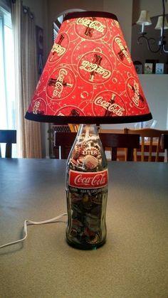 Original Coca Cola Bottle Custom Lamp: