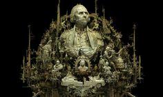 - Kris Kuksi - Des objets dénichés dans la rue sublimés en d'extraordinaires sculptures surréalistes.