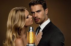 Another new promotional poster for Hugo Boss The Scent For Her! •|• [#theojames…