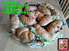 Kandy's Kitchen Kreations: Mini Chicken Salad Croissants