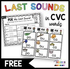Fun Phonics Activities, Letter Sound Activities, Phonics Centers, Phonics Lessons, Kindergarten Assessment, Homeschool Kindergarten, Cvce Words, Teaching Letters, First Grade Teachers