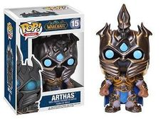 From the World of Warcraft MMORPG series from Blizzard, Arthas Menethil has been given the Pop! Vinyl treatment with this World of Warcraft Arthas Pop! Vinyl Figure! Arthas stands 3 3/4-inches tall, and makes a great gift for children and adult collectors alike. When you see just how cool the World of Warcraft Arthas Pop! Vinyl Figure looks you'll want to collect the rest in this line of WoW Pop! Vinyl figures from Funko! #funko #collectible #popvinyl #actionfigure #toy #Arthas