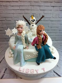 Another frozen themed cake