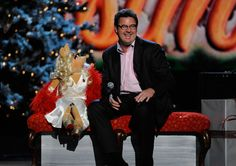 "Miss Piggy and Vince Gill teamed for a memorable performance of ""Baby, It's Cold Outside"" on ABC's 2011 ""CMA Country Christmas"" program (12/1/11)."