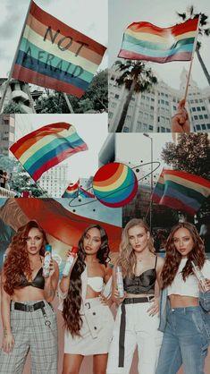 Lgbtq Little Mix Wallpaper Lockscreen HD Fondo de pantalla Little Mix Jesy, Little Mix Girls, Little Mix Style, Jesy Nelson, Lockscreen Hd, Phone Wallpapers, My Girl, Cool Girl, Litte Mix