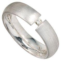 Dreambase Damen-Ring mattiert Silber 1 Diamant 0.04 ct. 5... https://www.amazon.de/dp/B00ABYXUZC/?m=A37R2BYHN7XPNV