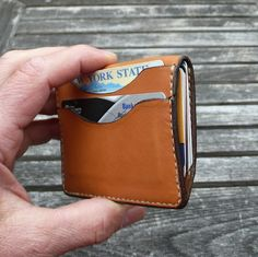 Custom Made Garny № 9 - Minimalist Leather Wallet