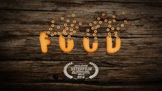 "FOOD is an animated documentary presents a group of ""edible characters"" discussing themselves. Visual Metaphor, Cool Animations, Work Inspiration, Stop Motion, Dog Tag Necklace, Documentaries, Songs, Film, Vegans"