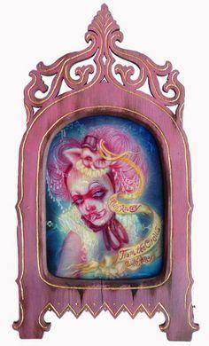 by Lara Dann #pink #circus