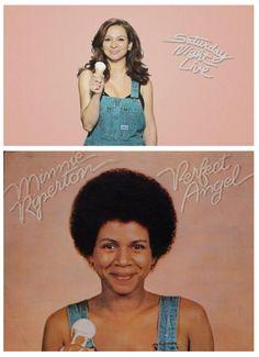 Maya Rudolph (top) - Daughter  Minnie Ripperton (bottom) - Mother