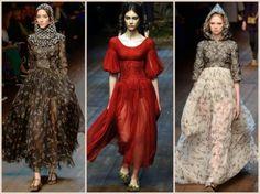 Dolce & Gabbana, collezione abbigliamento autunno/inverno 2014-2015 @dolcegabbana