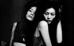 Liu Wen and Sun Fei Fei