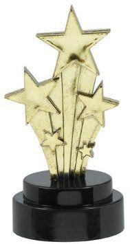 Amscan - Trofeo da Oscar (Confezione da 6)