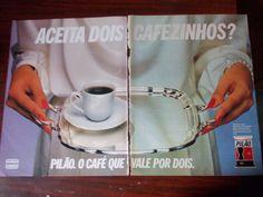 Propaganda Antiga - Café Pilão