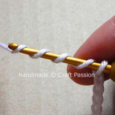 Crochet Tutorial: Yo-Yo Puff | Free Pattern & Tutorial at CraftPassion.com