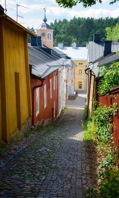 Porvoo, the second oldest town in Finland, deserves to be seen, admired and loved for not just one but many reasons. Porvoo is not a town but an experience Travel Images, Travel Pictures, Travel Photos, Finland Summer, Colonial House Exteriors, Lithuania Travel, Finland Travel, Europe Photos, Places In Europe