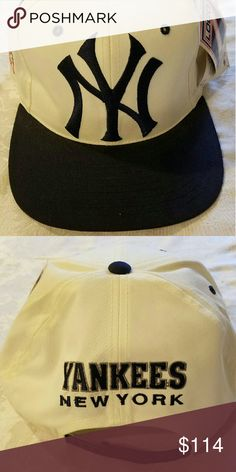 131d7103169 I just added this listing on Poshmark  Yankees Baseball Cap Hats Man Adult  White Blue New.