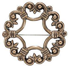 Kalevala Koru / Kalevala Jewelry / SUOTNIEMI BROOCH, material: bronze
