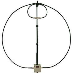 10-40 meter 30 Watt Magnetic Alpha Loop with 6:1 reduction