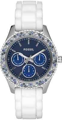 Blue BLING fossil watch LOVE