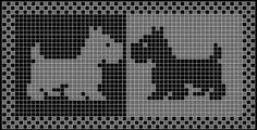 Resultado de imagem para tapete croche file grafico