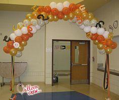 #ballooncrewinc #balloonarch #packedarch #balloondecor #partyideas #partydecor #partyballoons #entrance #decorideas #partyarch #decorarch