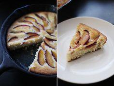 Plum Skillet Cake | Via: Elephantine