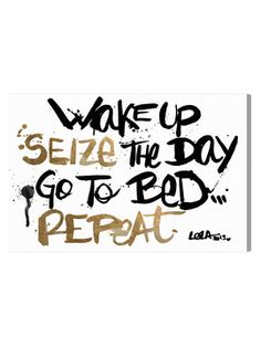 Seize the Day (Canvas) from Oliver Gal Canvas Art on Gilt