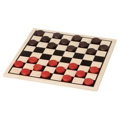 CHECKERS - BASIC WOODEN SET