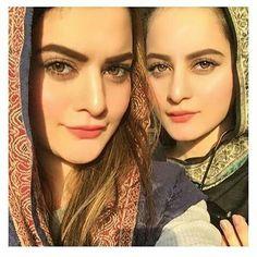 So beautiful minal and aiman face cuts