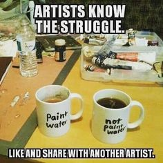 The struggle is real Satire, Artist Problems, Art Jokes, Struggle Is Real, Haha Funny, Funny Stuff, Funny Things, Diy Things, Stupid Funny