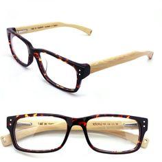 handmade  bamboo & acetate  bamboo  glasses frame by TAKEMOTO