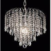 Found it at Wayfair - Elegant Lighting Falls 4 Light Chandelier