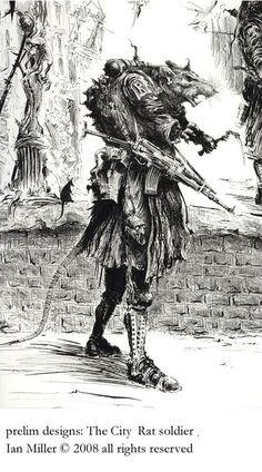 Ian Miller 'The Rat Soldier'