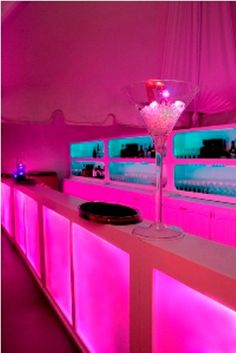 glowing pink bars @ http://www.facebook.com/EmmaCorrieDesigns see us today.